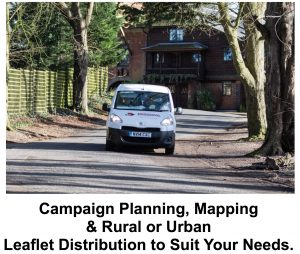 Leaflet Distribution Prices for Rural or Urban Deliveries