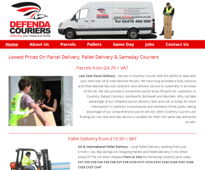 Visit Defenda Couriers website