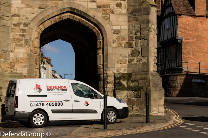 Leaflet Distribution made easy with DEFENDA Leaflet Delivery Warwick